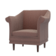 Brown Armchair - 3DOcean Item for Sale