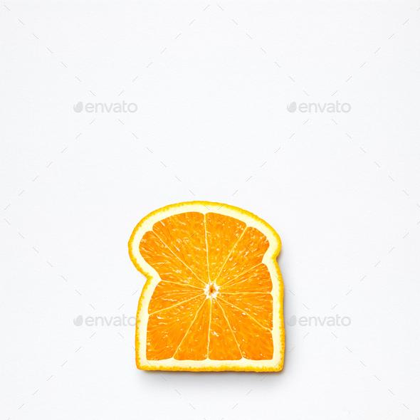 Orange bread. - Stock Photo - Images