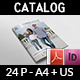 Fashion Catalog Brochure Template - 24 Pages - GraphicRiver Item for Sale