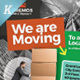 We Are Moving Flyer Vol.01 - GraphicRiver Item for Sale