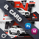 Rent A Car Business Card Templates