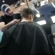 Male Hairdresser Does a Haircut - VideoHive Item for Sale