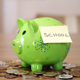 Saving Money for School in Piggy Bank - VideoHive Item for Sale