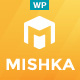 Mishka | A Trendy Portfolio WordPress Theme - ThemeForest Item for Sale