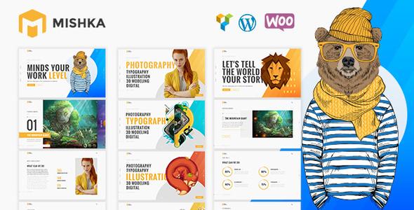 Image of Mishka | A Trendy Portfolio WordPress Theme