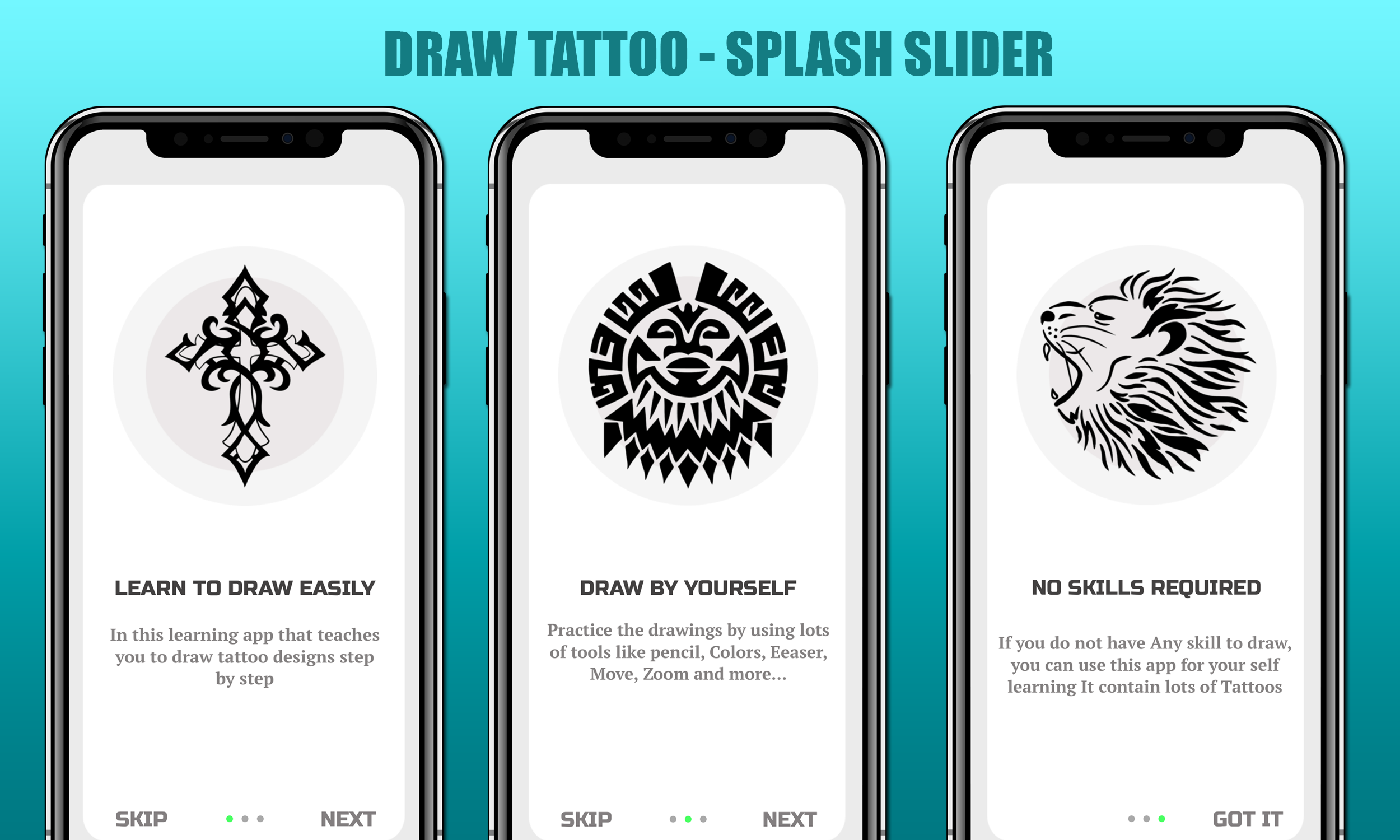 How To Draw Tattoo Ios Full Application By Freaktemplate Codecanyon