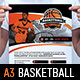 Basketball Poster Template - GraphicRiver Item for Sale
