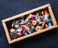 Thread spools and buttons - PhotoDune Item for Sale