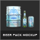 Beer Pack Mock-Up - GraphicRiver Item for Sale