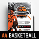 A4 Basketball Poster Templates - GraphicRiver Item for Sale