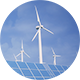Sun Batteries And Wind Turbines Clean Energy Of Future Ver.3 - VideoHive Item for Sale