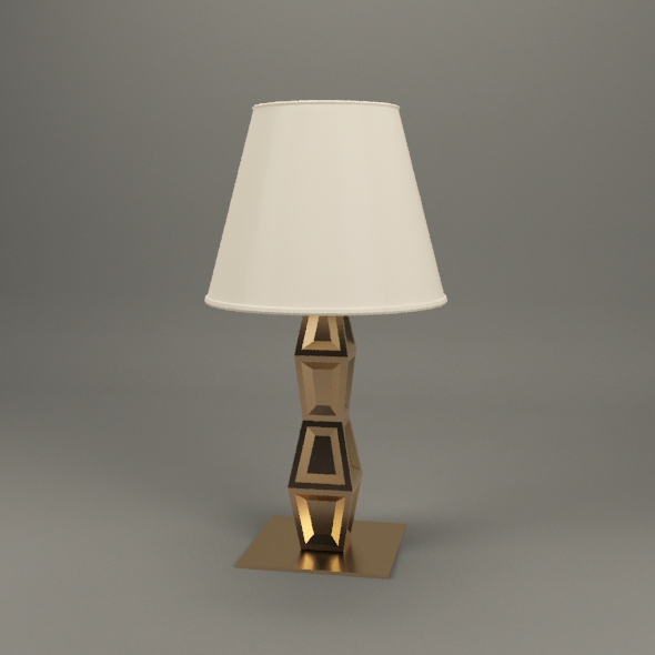 NIGHTSTAND LAMP - 3DOcean Item for Sale