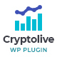 WordPress CryptoCurrencyLive - The Real-Time Market Capitalization