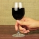 Young Man Drinking Red Wine on Wooden Table - VideoHive Item for Sale