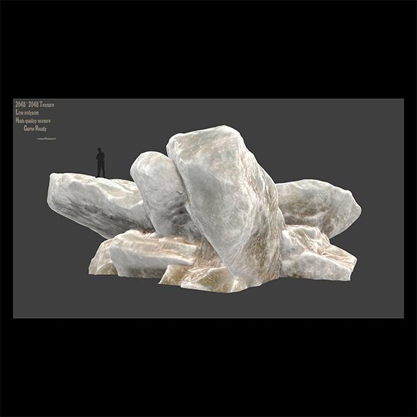 ice rocks 2 - 3DOcean Item for Sale
