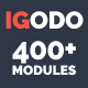Igodo - Responsive Email with 400+ Modules + MailChimp Editor + StampReady + Online Builder - ThemeForest Item for Sale