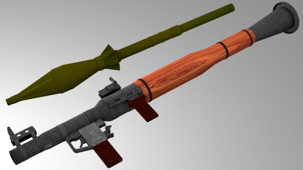 RPG-7B - 3DOcean Item for Sale