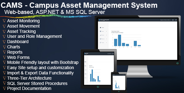 CAMS - Campus Asset Management System - CodeCanyon Item for Sale