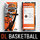 Basketball Rack Card Template - GraphicRiver Item for Sale