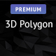 5 Individual 3D Polygon Backgrounds (Dark Shaded)