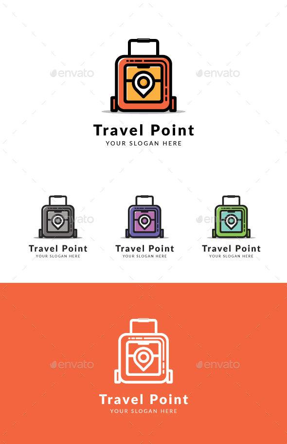 Travel Point - Logo Templates