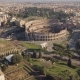 Aerial View of Colosseum - VideoHive Item for Sale