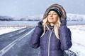 Beautiful girl enjoyong winter - PhotoDune Item for Sale