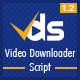 Video Downloader Script - All In One Video Downloader