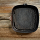 empty black cast iron pan - PhotoDune Item for Sale