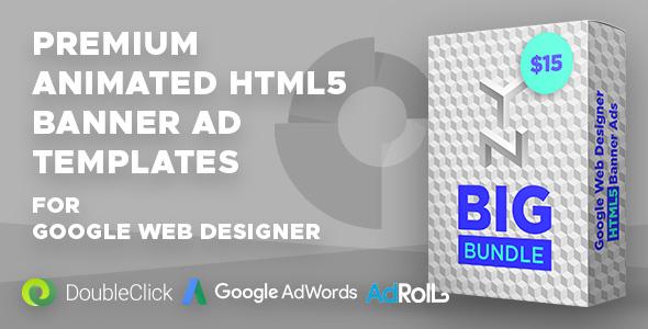 YN Big Bundle (GWD) - Google Web Designer Animated HTML5 Banner Ad Bundle - CodeCanyon Item for Sale