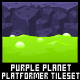 Purple Planet - Platformer Tileset - GraphicRiver Item for Sale