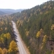 Flight over the Road to the Baikal - VideoHive Item for Sale