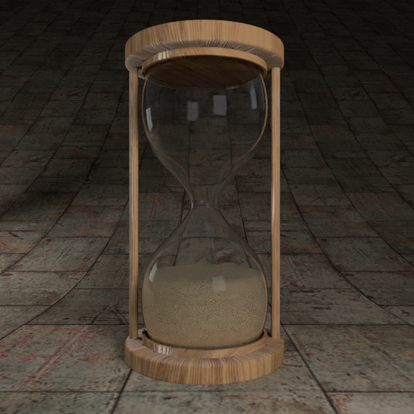 Hourglass - 3DOcean Item for Sale