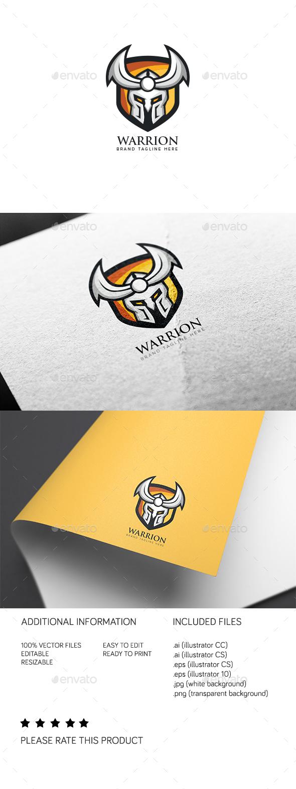 Warrion Logo - Humans Logo Templates