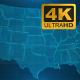 Sci-Fi USA Map 4K - VideoHive Item for Sale