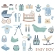 Baby Boy Icons - GraphicRiver Item for Sale