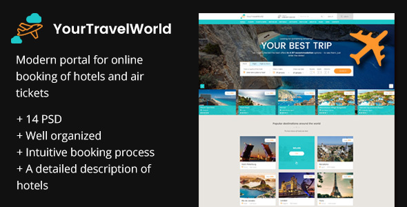 Your Travel World — Online Travel Booking