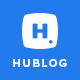 Hublog - Blog & Magazine PSD Template
