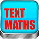 Math Game: Text Maths