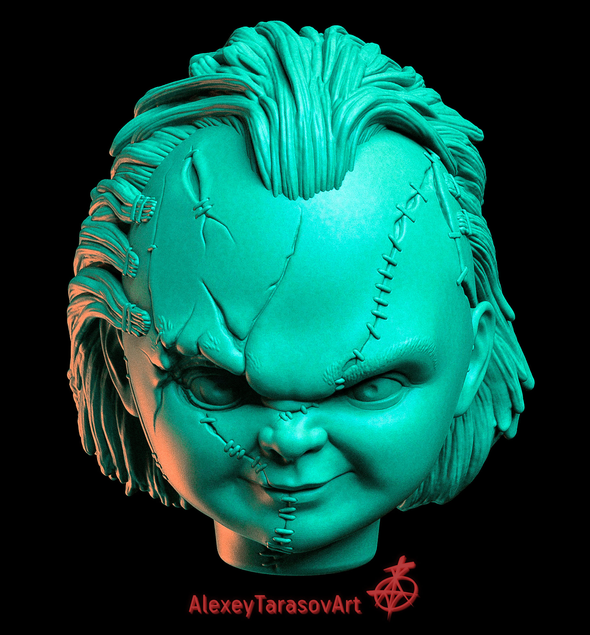 Chucky for 3D printing 3D model - 3DOcean Item for Sale