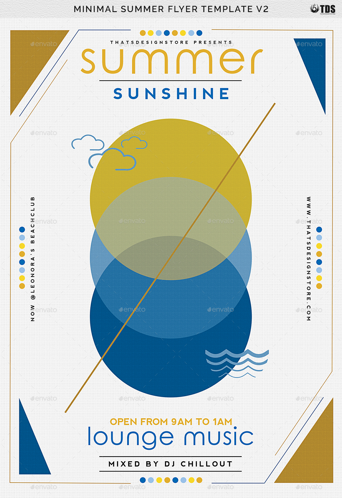 Minimal summer flyer template v2 by lou606 graphicriver summer flyer templateg saigontimesfo