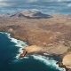 Flight Over Fuerteventura Coastline, Canary Islands - VideoHive Item for Sale