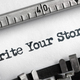 Write your story written on typewriter - PhotoDune Item for Sale