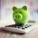 Piggy bank with calculator - PhotoDune Item for Sale