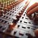 Sound recording studio mixer desk - PhotoDune Item for Sale