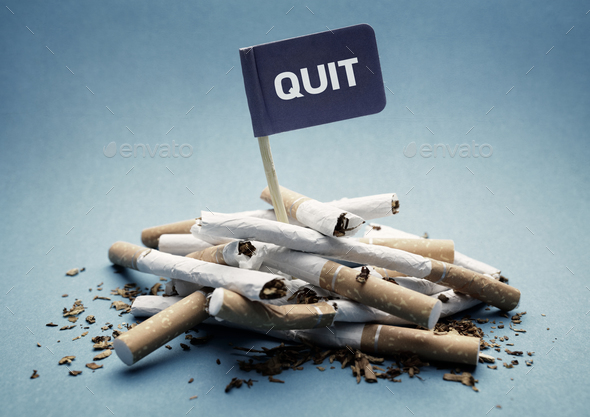 Quit smoking - Stock Photo - Images