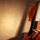 Cello background with copy space for music concept - PhotoDune Item for Sale