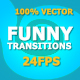 Funny Cartoon Transitions - VideoHive Item for Sale