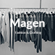 Magen Fashion & Clothing Keynote Template
