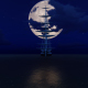 Moon and Ship - VideoHive Item for Sale